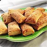 Mexicain Banderilla biscuits avec du sucre et de cannelle