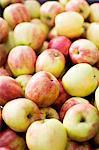 Full-Frame-Bild von frischen Äpfeln