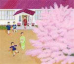 Cérémonie d'entrée de l'école élémentaire