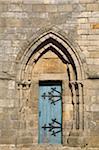Close-Up of Door, Cathedrale Saint-Paul-Aurelien, Saint-Pol-de-Leon, Bretagne, France