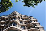 Casa Mila, Barcelona, Catalunya, Spain