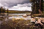 Dog lake in Yosemite National Park