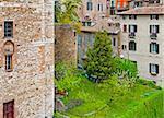 Vue sur centre historique ville de Pérouse, Italie