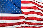 American Flag, New York City, New York, USA