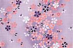 Tissu fleurs de cerisier
