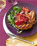 Grill Pork Chop with Plum Chutney