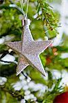 Décoration de Noël en forme d'étoile