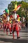 Scoppio del Carro, Explosion de la Cart Festival, dimanche de Pâques, Florence, Province de Florence, Toscane, Italie