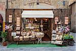 Extérieur du magasin, Arezzo, Province d'Arezzo, Toscane, Italie