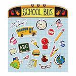 Retour à l'école Doodle éducation Vector Illustration jeu