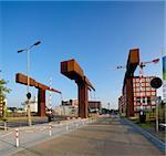 Old drawbridge in Deventer, Netherlands