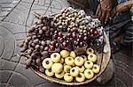 Basket of fruit for sale at market