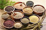 Assorted grains