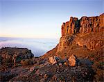 Mountain Scenic Karoo National parc Western Cape, Afrique du Sud