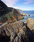 Rocky Coastline Along the Otter Trail Tsitsikamma Coastal National Park Eastern Cape, South Africa