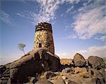 Ancient Watchtower Asir Region, Saudi Arabia