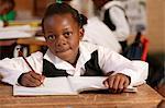 Girl in a Classroom Gauteng, South Africa