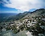 View from Swart Berg Oudtshoorn, Western Cape South Africa