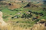 Farmland, Clarens, Maluti Mountains, Free State, South Africa