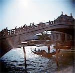 Gondole sur le Grand Canal, Venise, Italie