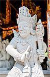 Hindu stone statue at Pura Tirta Empul Temple, a Hindu Temple on Bali, Indonesia, Southeast Asia, Asia