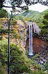 Waitonga Falls in Tongariro National Park, UNESCO World Heritage Site, North Island, New Zealand, Pacific