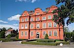 Kew Palace, Royal Botanic Gardens, UNESCO World Heritage Site, Kew, near Richmond, Surrey, England, United Kingdom, Europe