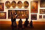 Pinacoteca do Estado (état Pinacothèque), de Sao Paulo, Brésil, d'Amérique du Sud