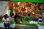 Fruit stall, Mercado Municipal, Sao Paulo, Brazil, South America