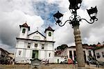 Catedral Basilica da Se (Nossa Senhora da Assuncao) at Praca da Se, Mariana, Minas Gerais, Brazil, South America