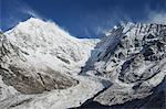 Langtang Lirung Glacier, Langtang National Park, Bagmati, Central Region (Madhyamanchal), Nepal, Himalayas, Asia