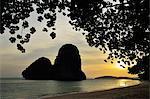 Koh Nok, Pranang Cave Beach, Rai Leh (Railay), Andaman Küste, Provinz Krabi, Thailand, Südostasien, Asien