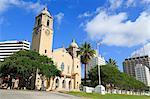 Cathédrale, Corpus Christi, Texas, États-Unis d'Amérique, l'Amérique du Nord