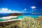 Balos beach, Gramvoussa, Crète, îles grecques, Grèce, Europe