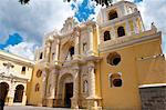 Nuestra Senora de la Merced Cathedral, Antigua, UNESCO World Heritage Site, Guatemala, Central America