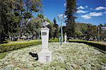 Statues in Praca da Liberdade (Liberty Square), Belo Horizonte, Minas Gerais, Brazil, South America