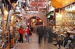 Medina, Marrakesch, Marokko, Nordafrika, Afrika