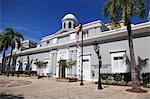 Museum, Puerto Rico Tourism Company, Paseo de la Princesa (Walkway of the Princess), Old San Juan, San Juan, Puerto Rico, West Indies, Caribbean, United States of America, Central America