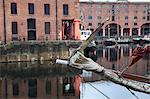 Albert Dock, patrimoine mondial de l'UNESCO, Liverpool, Merseyside, Angleterre, Royaume-Uni, Europe