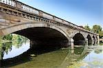 Pont de serpentine, Hyde Park, Londres, Royaume-Uni, Europe