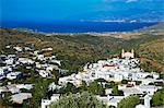Traditionnel village de Lefkes, Paros, Cyclades, Aegean, îles grecques, Grèce, Europe