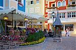 Cafe, Ortisei, Gardena Valley, Bolzano Province,Trentino-Alto Adige/South Tyrol, Italian Dolomites, Italy, Europe