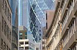 The Gherkin (Swiss Re Building), City of London, London, England, United Kingdom, Europe