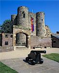 Ypres Castle, Rye, East Sussex, England, United Kingdom, Europe