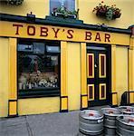 Typisch irischen Pub, Westport, County Mayo, Connacht, Republik Irland, Europa