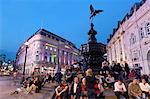 Statue de Eros, Piccadilly Circus, Londres, Royaume-Uni, Europe