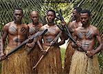 Authentic Fiji natives, First Landing Resort, Nalamu Beach, Vuda Point, Fiji, Pacific Islands, Pacific