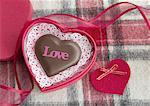 Chocolat en forme de coeur
