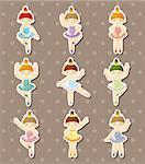 dancer stickers