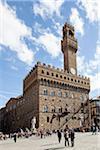 Palazzo Vecchio, Piazza della Signoria, Tuscany, Italy